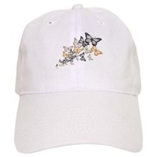 Butterfly Swarm Baseball Cap