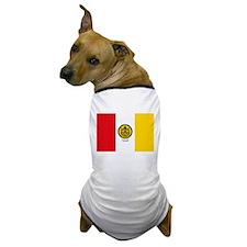 San Diego Flag Dog T-Shirt