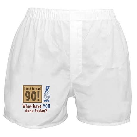 I Just Turned 90 Boxer Shorts