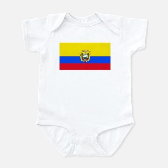 Ecuador Ecuadorian Blank Flag Infant Creeper