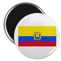 Ecuador Ecuadorian Blank Flag 2.25