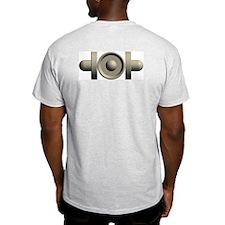 Triple Mallet Ash Grey T-Shirt