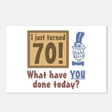I Just Turned 70 Postcards (Package of 8)