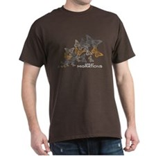 Butterfly Swarm Men's/Unisex Dark T-Shirt