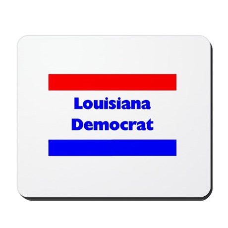 Louisiana Democrat Mousepad
