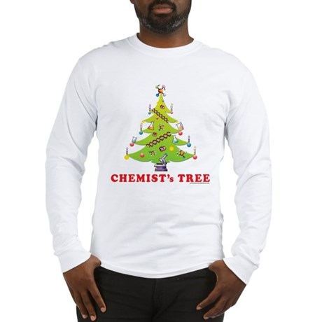 Chemist's TREE! Long Sleeve T-Shirt