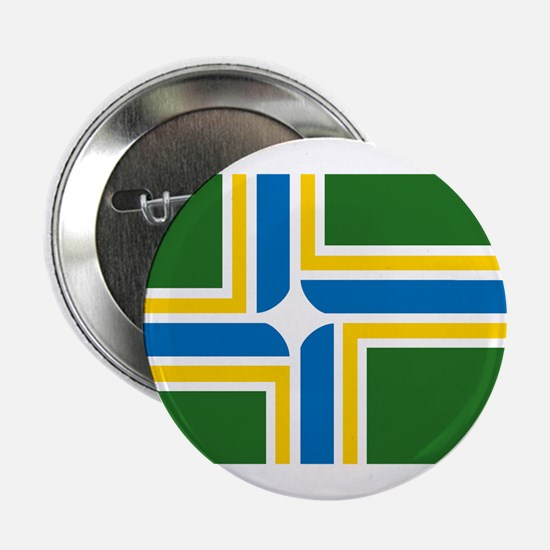 "Portland Flag 2.25"" Button (10 pack)"