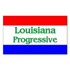 Louisiana Progressive Rectangle Decal