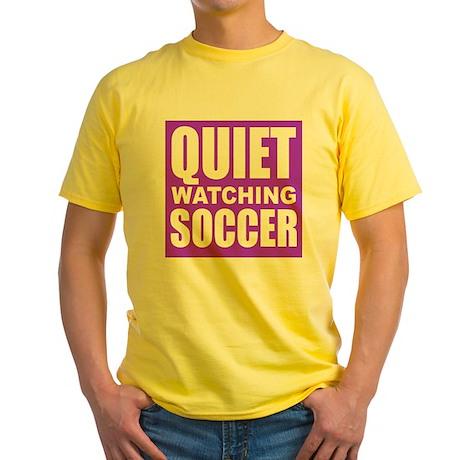 Quiet Watching Soccer T-Shirt