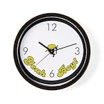 Yeah Boy! Wall Clock