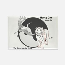 Hung Gar Kung Fu Logo Rectangle Magnet