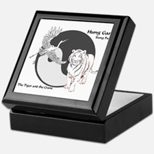 Hung Gar Kung Fu Logo Keepsake Box
