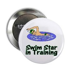 Swim Star in Training Christopher Button