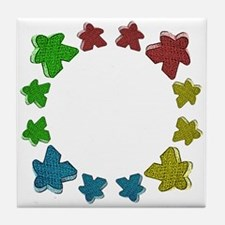Meeples Tile Coaster