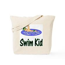 Swim Kid Christopher Tote Bag