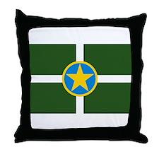 Jackson Flag Throw Pillow