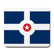 Indianapolis Flag Mousepad