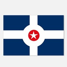 Indianapolis Flag Postcards (Package of 8)