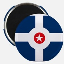 "Indianapolis Flag 2.25"" Magnet (10 pack)"