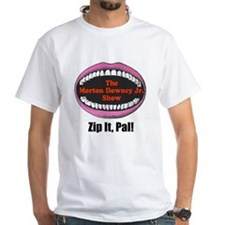 Morton Downey Jr. Zip It Logo Shirt
