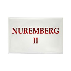 Nuremberg 2 Rectangle Magnet (10 pack)
