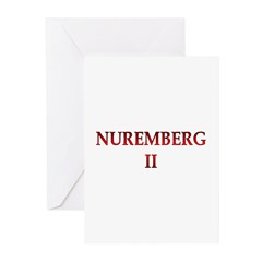 Nuremberg 2 Greeting Cards (Pk of 10)