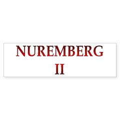 Nuremberg 2 Bumper Sticker