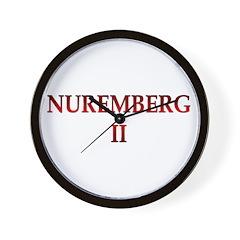 Nuremberg 2 Wall Clock