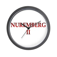 Nuremberg 2 Wall Clock