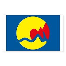 Grand Rapids Flag Rectangle Decal