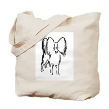 Papillon Sketch Tote Bag