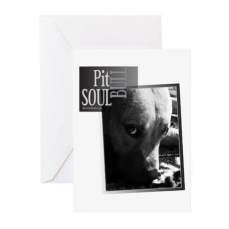 Pit Bull Soul-Pt.5 Greeting Cards (Pk of 20)