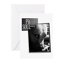 Pit Bull Soul-Pt.5 Greeting Cards (Pk of 10)