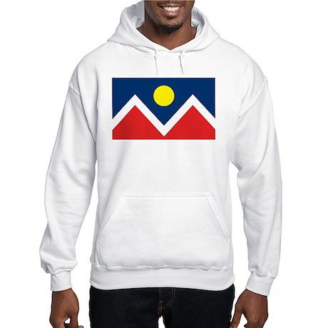 Denver Flag Hooded Sweatshirt