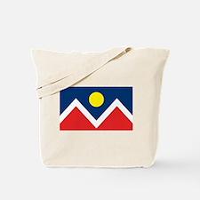 Denver Flag Tote Bag