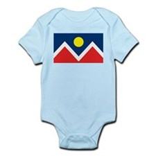 Denver Flag Infant Creeper