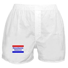 Massachusetts Democrat Boxer Shorts