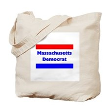 Massachusetts Democrat Tote Bag