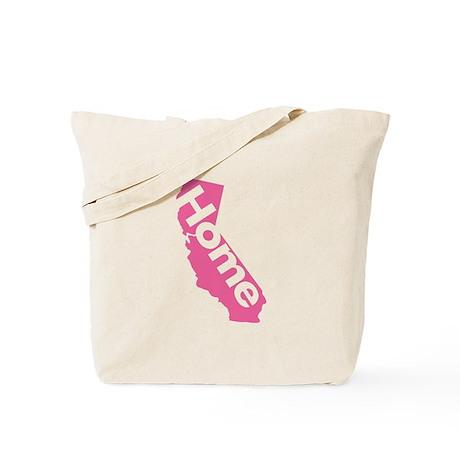 Home - California (Pink) Tote Bag
