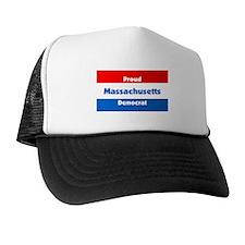Massachusetts Proud Democrat Trucker Hat