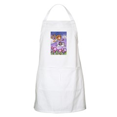 GARDEN FAIRY No. 4... Apron for Kitchen or Garden
