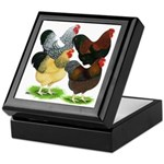 Wyandotte Rooster Assortment Keepsake Box