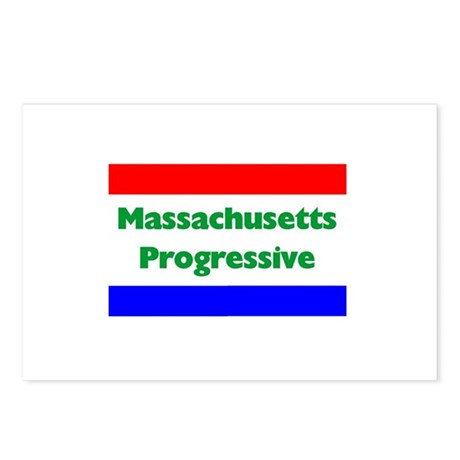 Massachusetts Progressive Postcards (Package of 8)