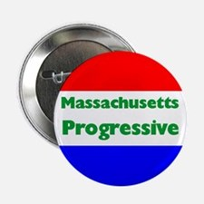 Massachusetts Progressive Button