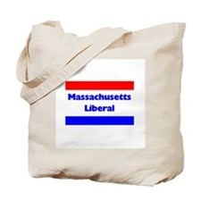 Massachusetts Liberal Tote Bag
