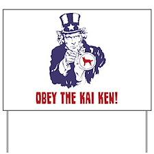 Kai Ken Yard Sign