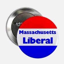 Massachusetts Liberal Button