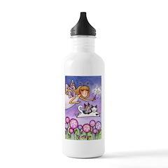Garden Fairy No. 4...Water Bottle