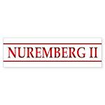 NUREMBERG II Sticker (Bumper 10 pk)