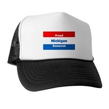Michigan Proud Democrat Trucker Hat
